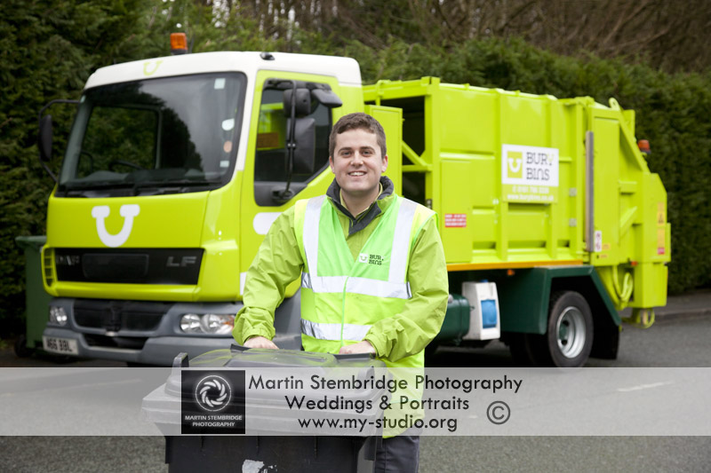 Bury Bins at Martin Stembridge Commercial Photography