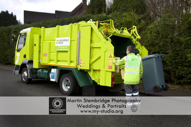 Rochdale Bins at Martin Stembridge Commercial Photography